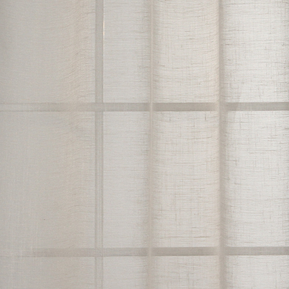 NATURAL SHEERS DARK NEUTRALS Morning Wisp Fabric - Sand
