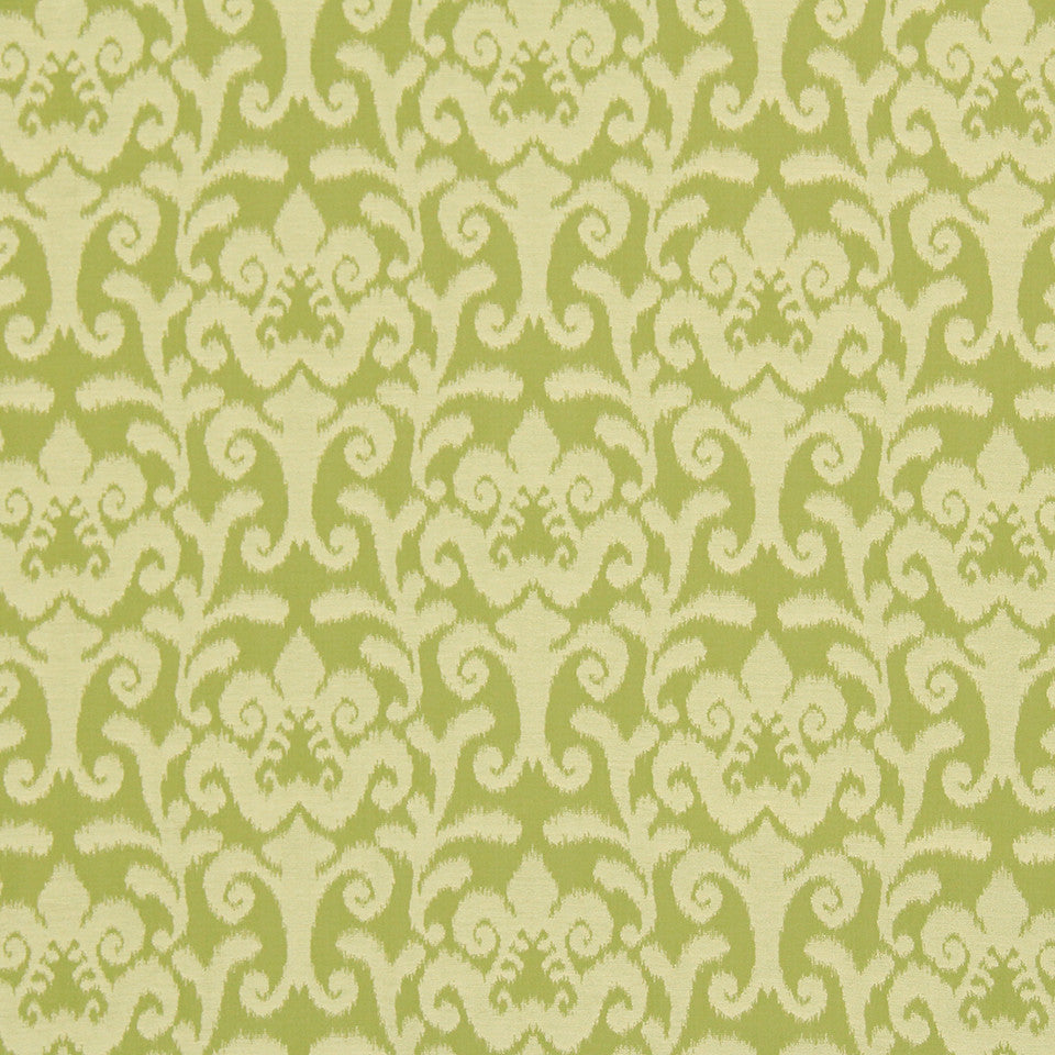 CRYPTON TRANSITIONAL Shady Site Fabric - Lemongrass