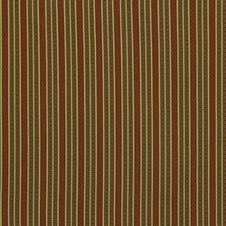 CRYPTON TRANSITIONAL Full Stripe Fabric - Pomegranate