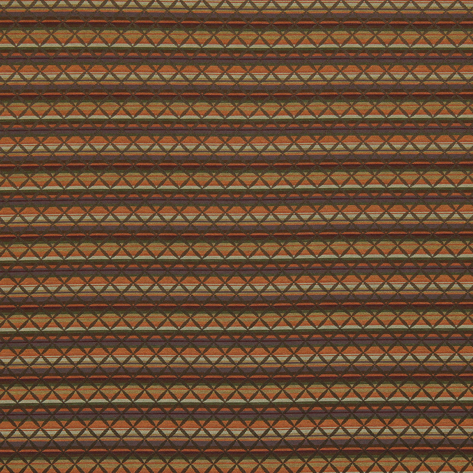 CRYPTON TRANSITIONAL Cross Stripe Fabric - Radicchio