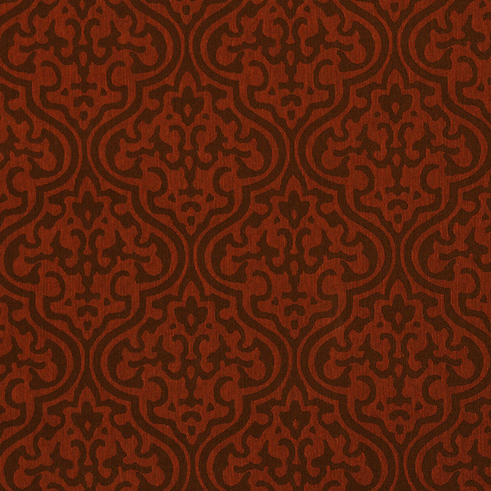 CRYPTON TRANSITIONAL Sand Trails Fabric - Pomegranate