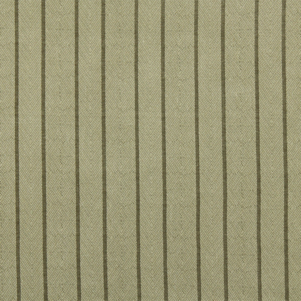 RUSTIC STRIPES AND PLAIDS UPH Dauphin Stripe Fabric - Sisal