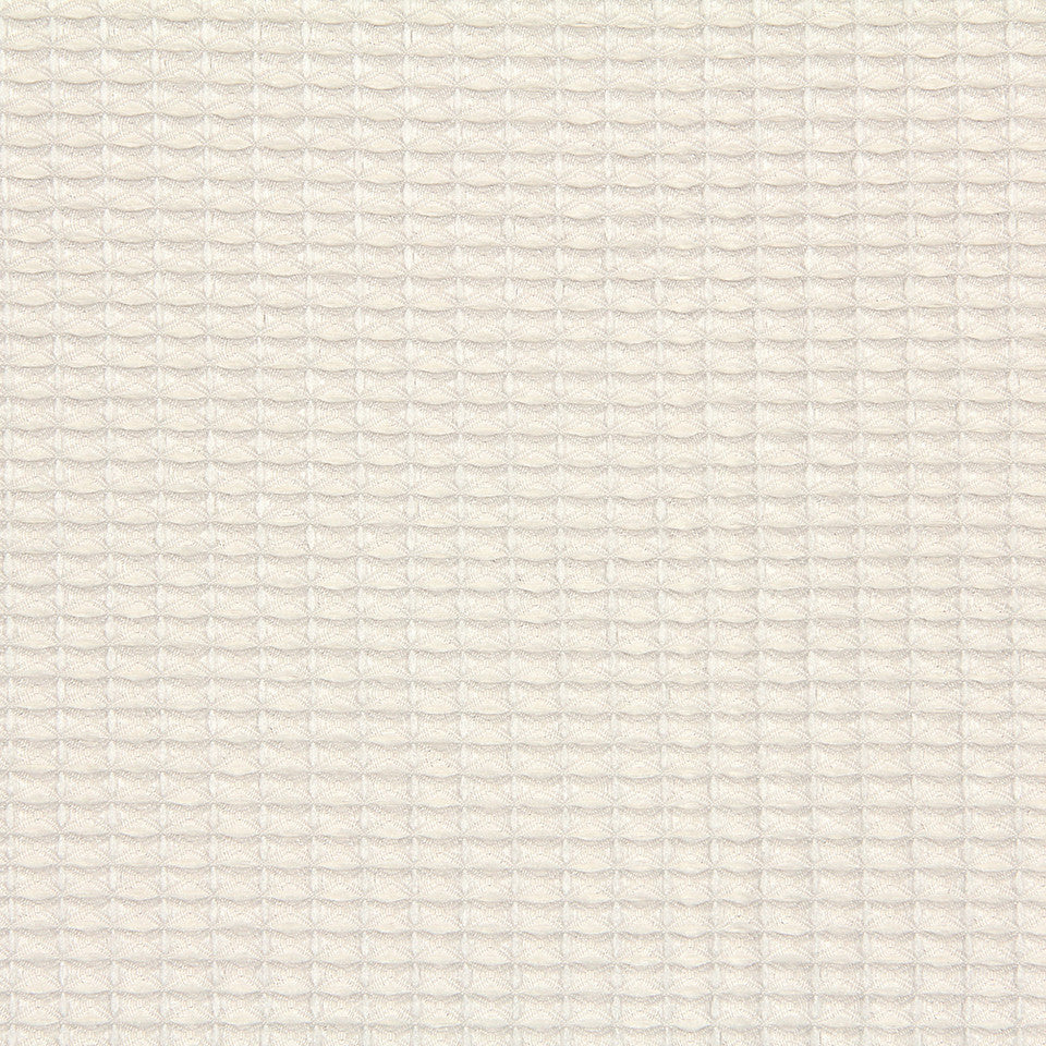 DWELLSTUDIO MODERN LUXURY Mini Honeycomb Fabric - Pearl