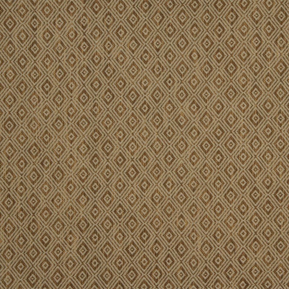 RUSTIC JUTE AND RAFFIA Jute Diamond Fabric - Copper