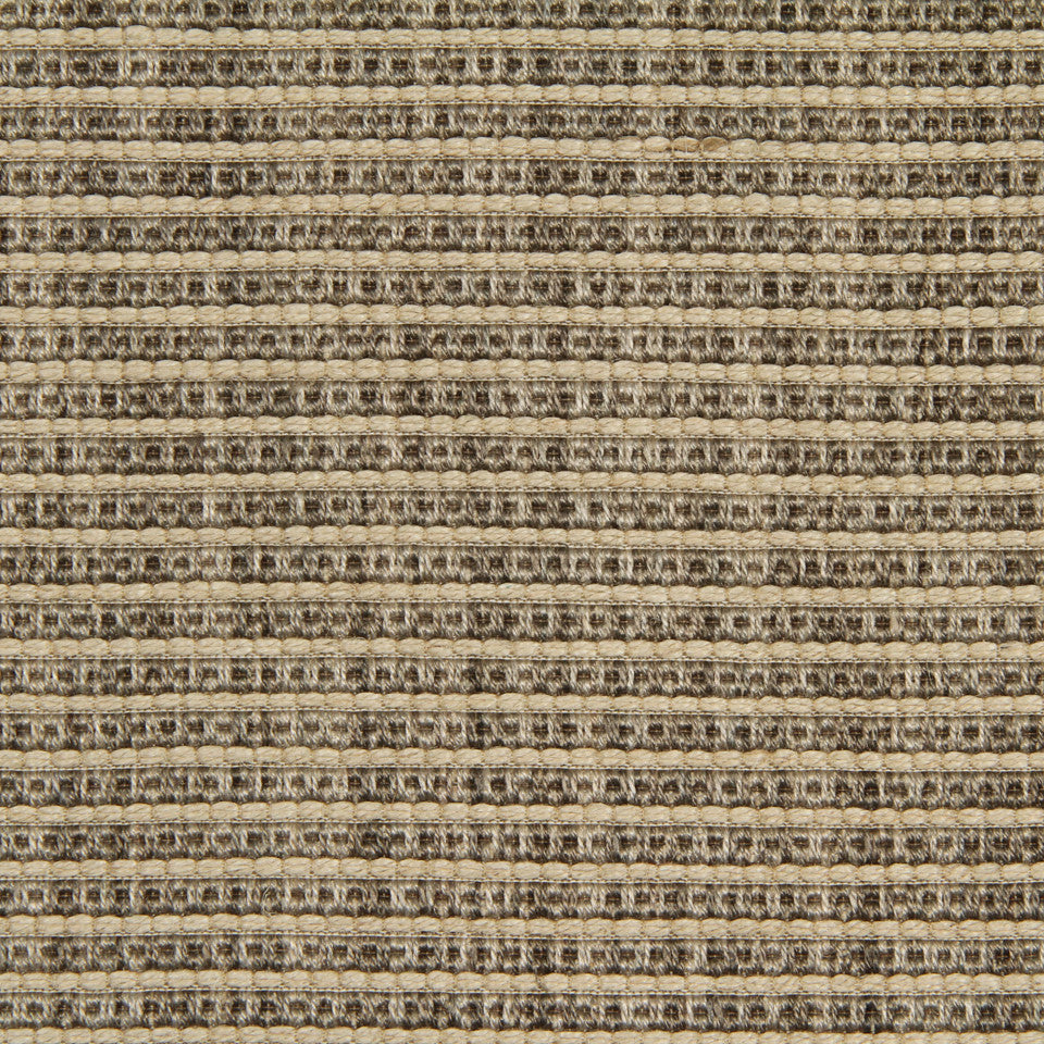 RUSTIC JUTE AND RAFFIA Jute Ottoman Fabric - Charcoal