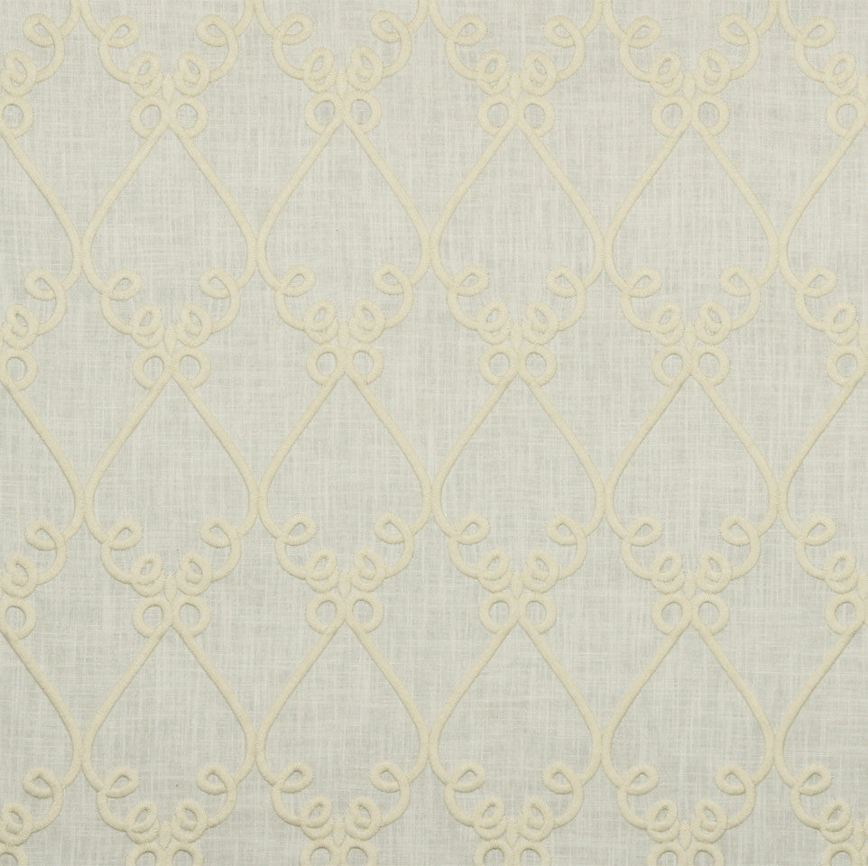 WILLIAMSBURG CLASSICS COLLECTION I Bold Sconce Fabric - Pearl