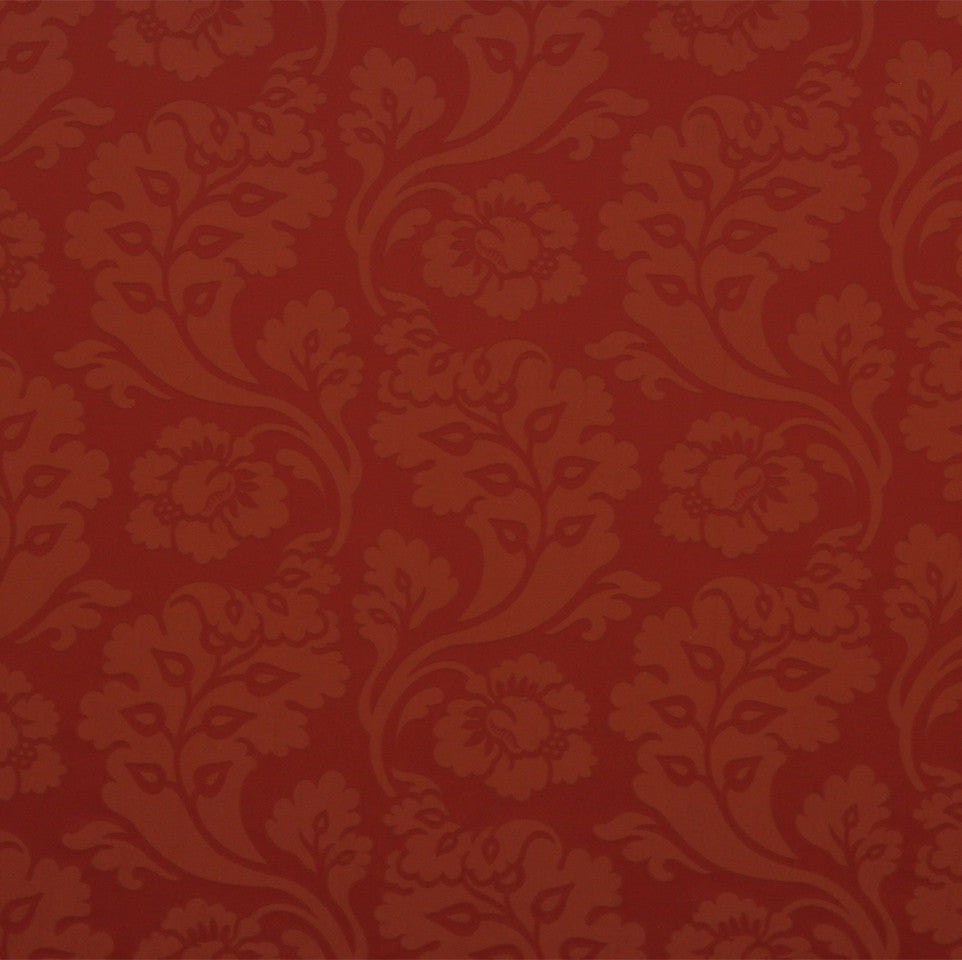 WILLIAMSBURG CLASSICS COLLECTION I Shadow Vines Fabric - Barn Red