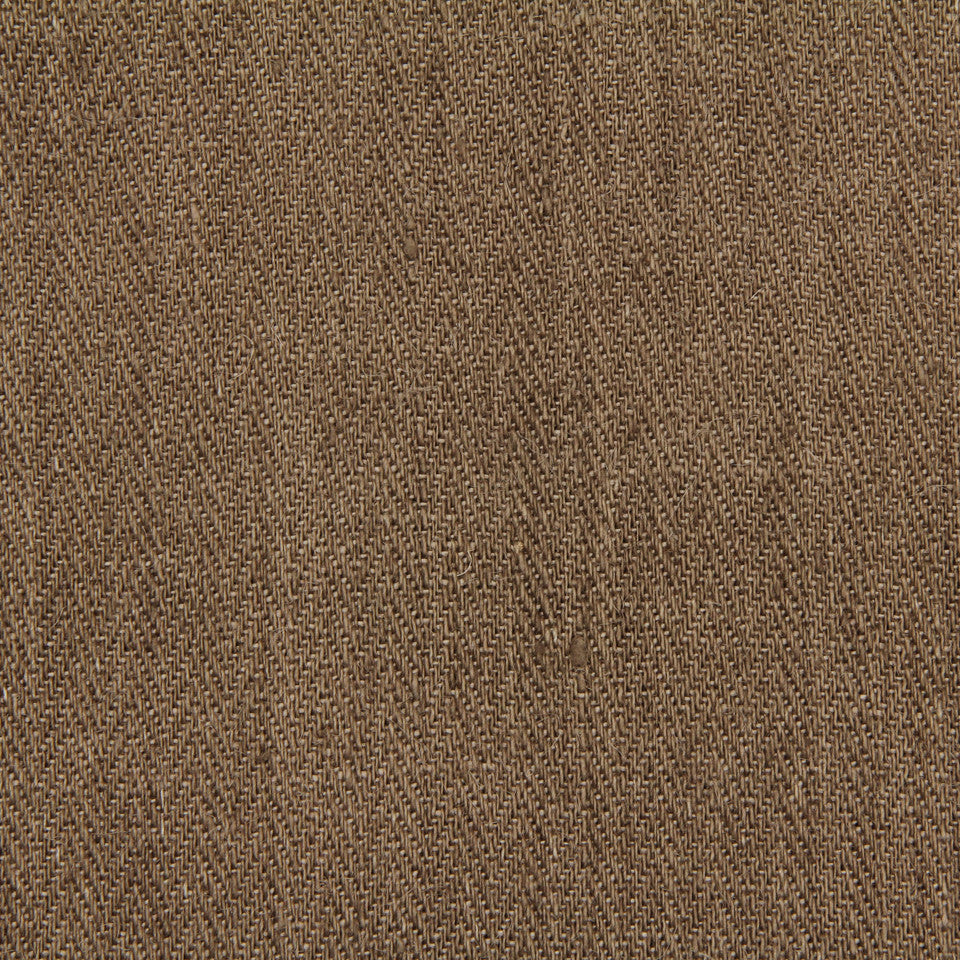 LINEN, WOOL AND CASHMERE SOLIDS Gaucho Solid Fabric - Dark Taupe