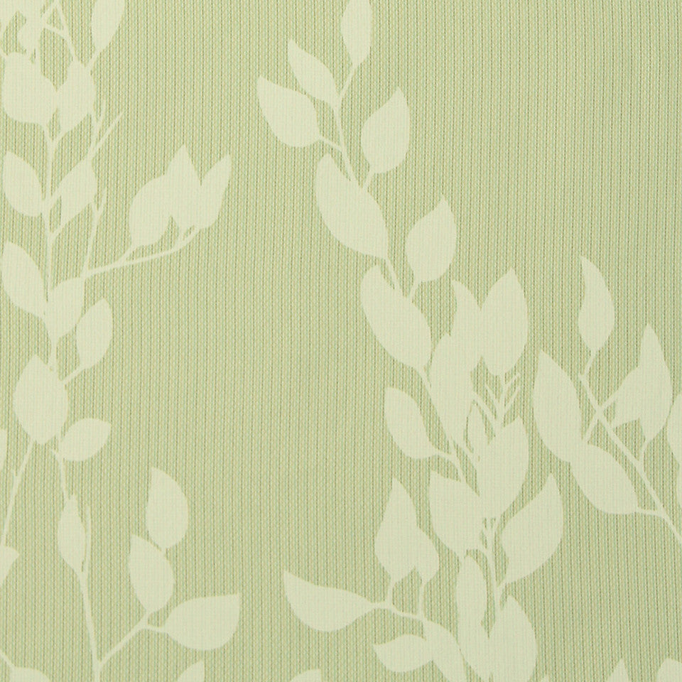 HEALTHCARE BINDER:  PRIVACY CURTAINS/WINDOW Vine Stitch Fabric - Leaf