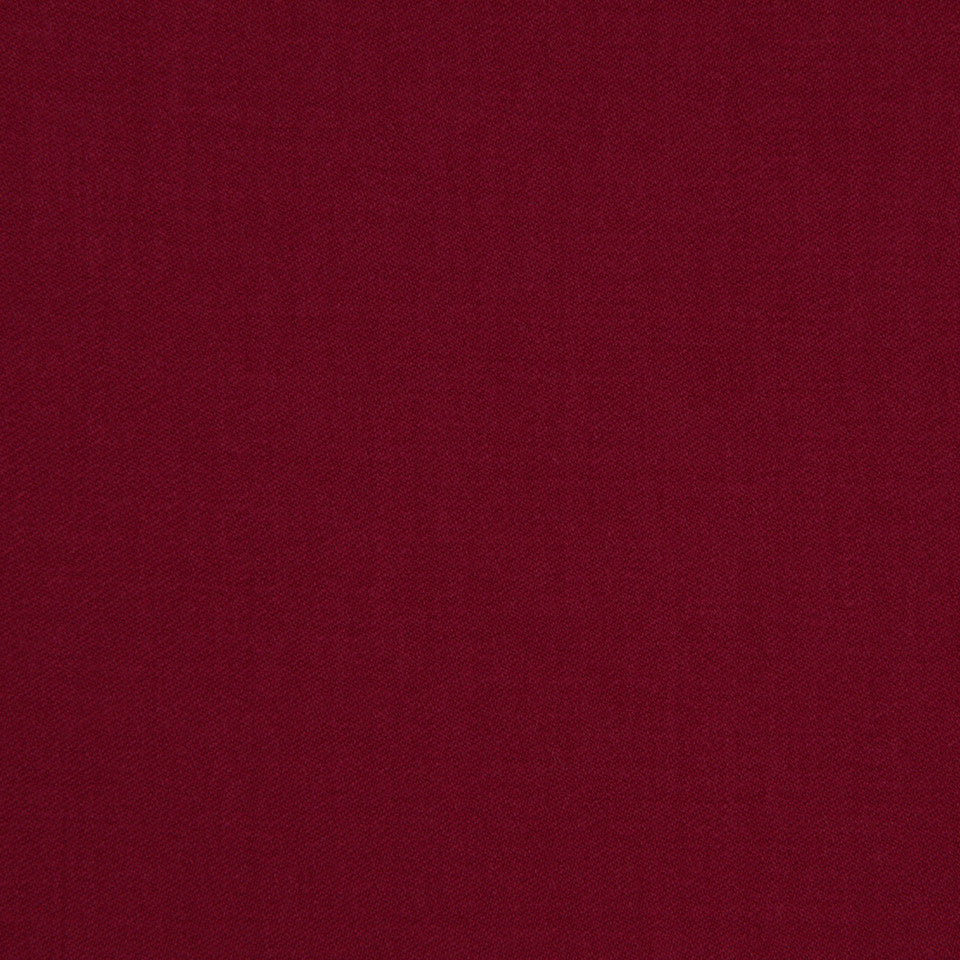LINEN, WOOL AND CASHMERE SOLIDS Wool Sateen Fabric - Magenta