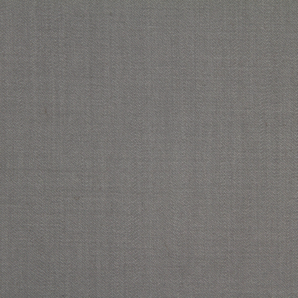 Wool Sateen Fabric - Pewter
