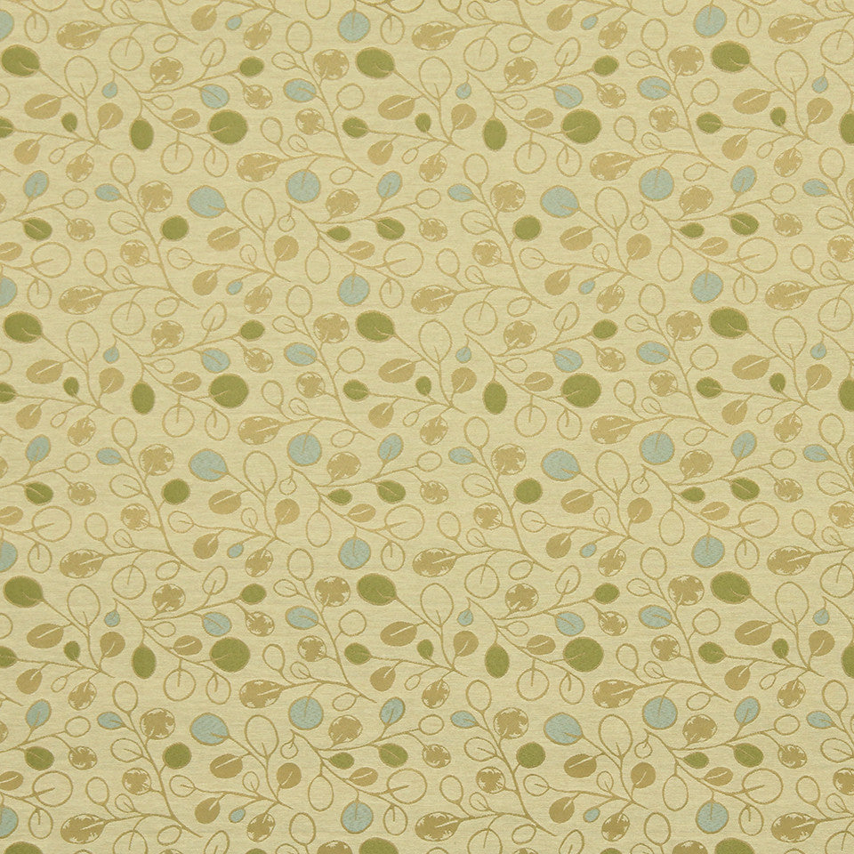 HEALTHCARE BINDER: PERFORMANCE/FINISHES 1 AND 2 Sketched Vines Fabric - Natural