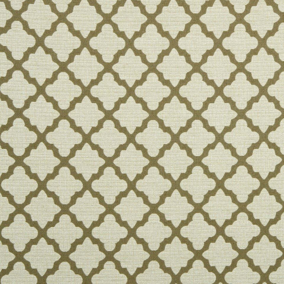 DWELLSTUDIO GLOBAL MODERN LUXE Casablanca Geo Fabric - Toffee
