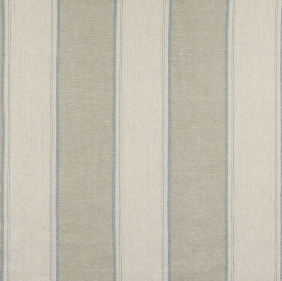 LINEN STRIPES & PLAIDS Vintage Stripe Fabric - Canvas