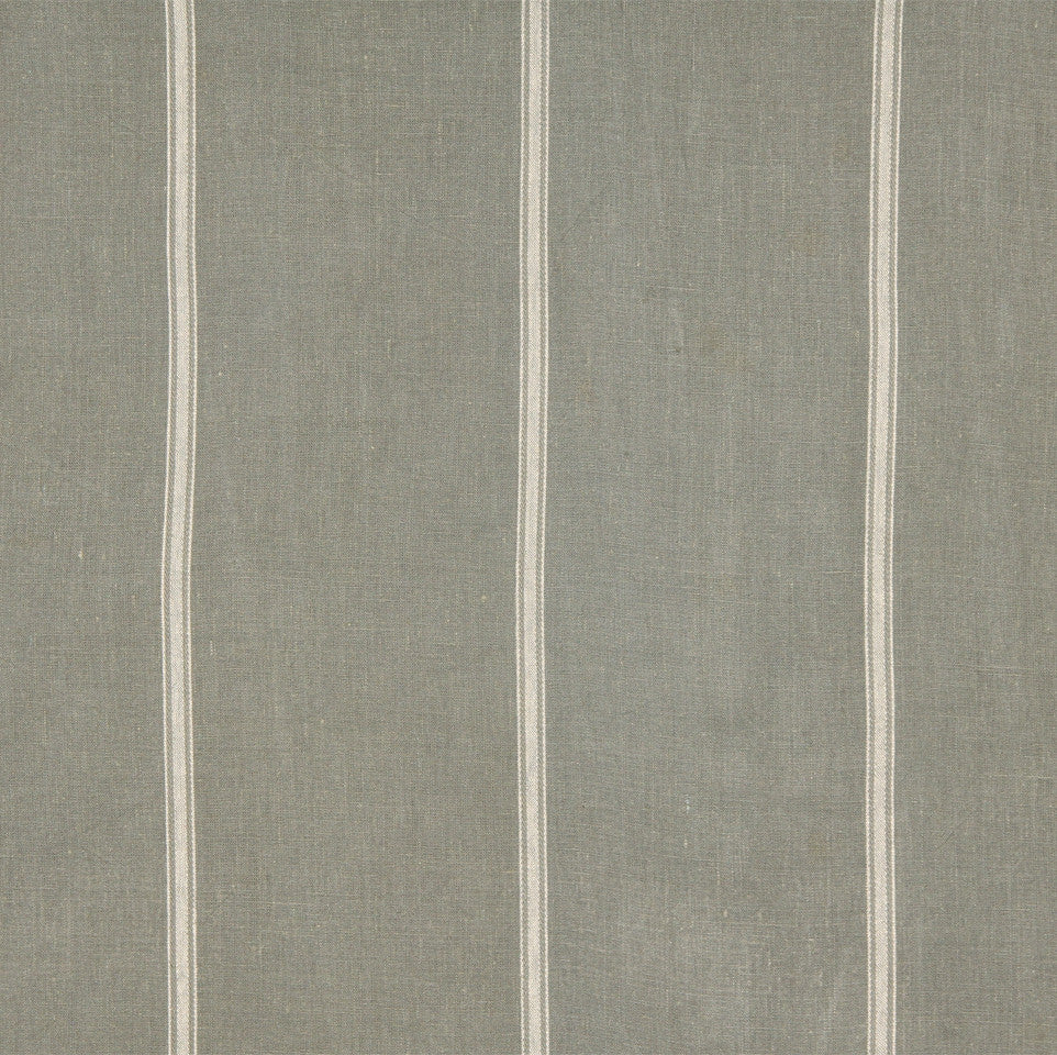 LINEN STRIPES & PLAIDS Stripe Within Fabric - Slate