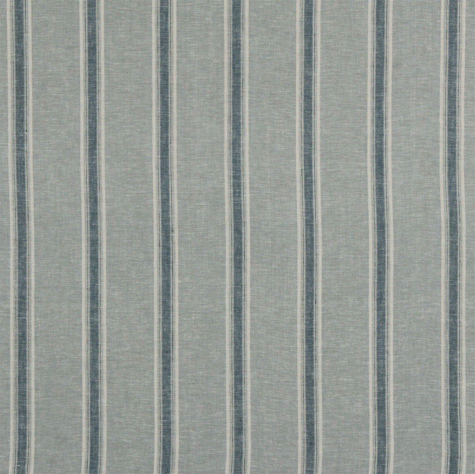LINEN STRIPES & PLAIDS Inner Lines Fabric - Mist