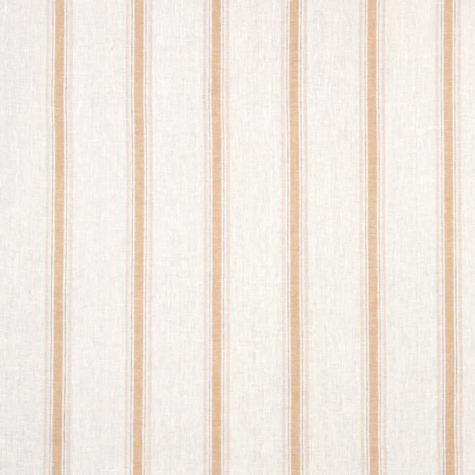 GRAIN-COBBLESTONE-SEA Inner Lines Fabric - Golden