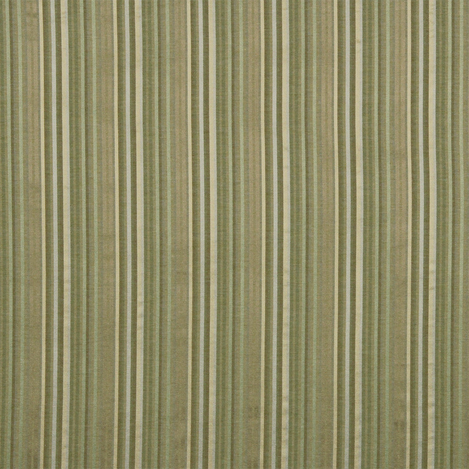 WARM Holiday Stripe Fabric - Fawn