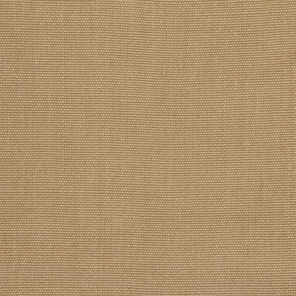 LINEN, WOOL AND CASHMERE SOLIDS Hasselt Linen Fabric - Honey