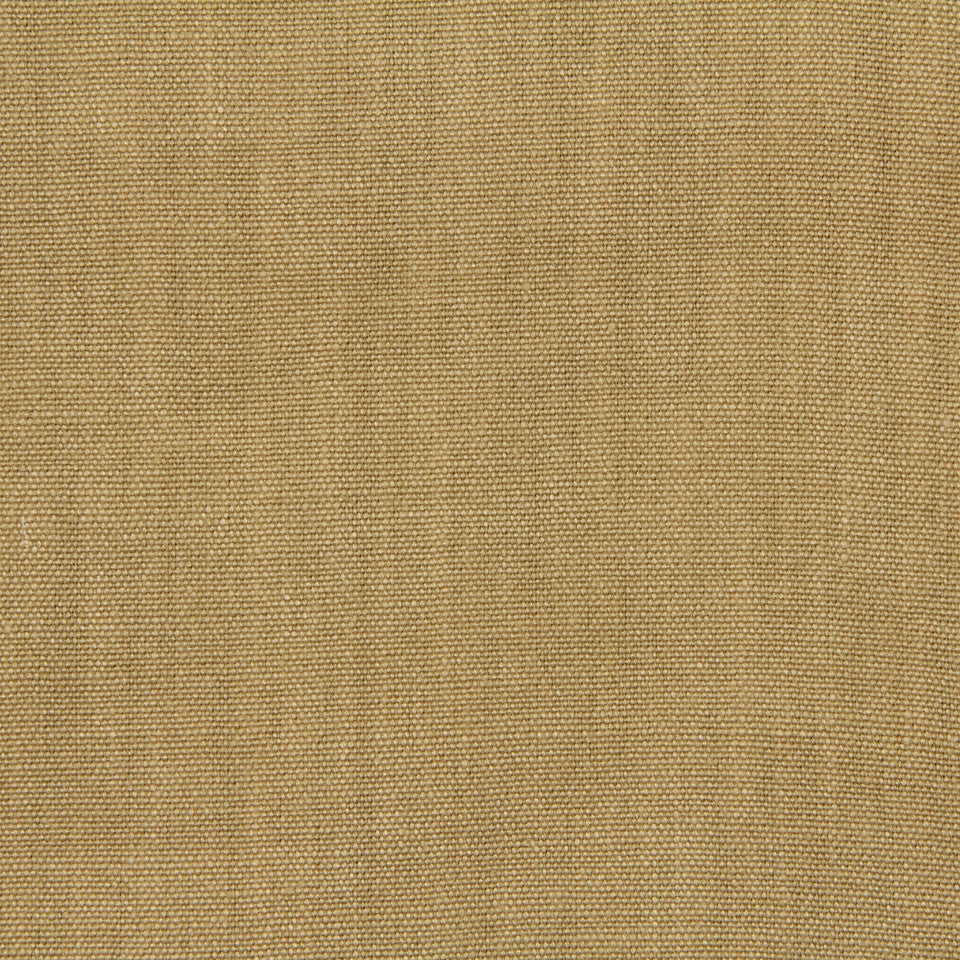 LINEN, WOOL AND CASHMERE SOLIDS Brussels Linen Fabric - Honey