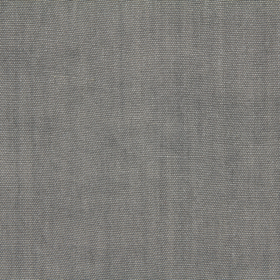 LINEN, WOOL AND CASHMERE SOLIDS Brussels Linen Fabric - Pewter