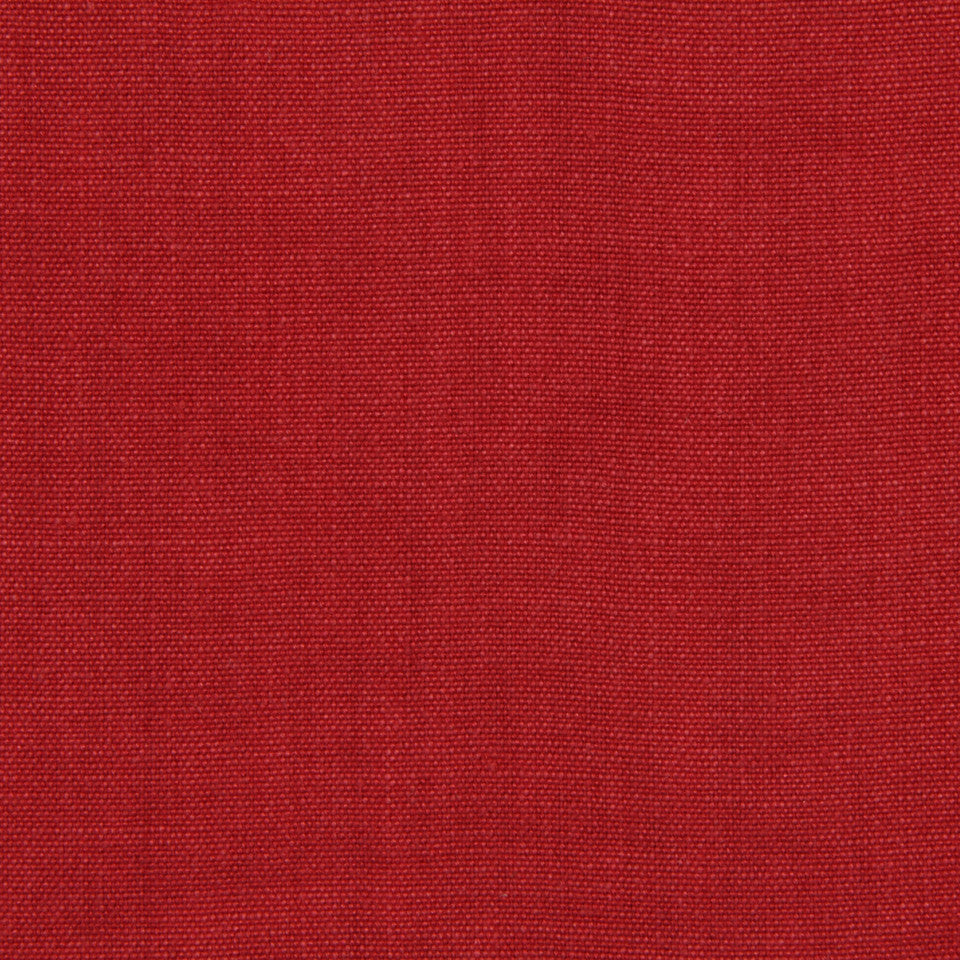 LINEN, WOOL AND CASHMERE SOLIDS Brussels Linen Fabric - Red Apple