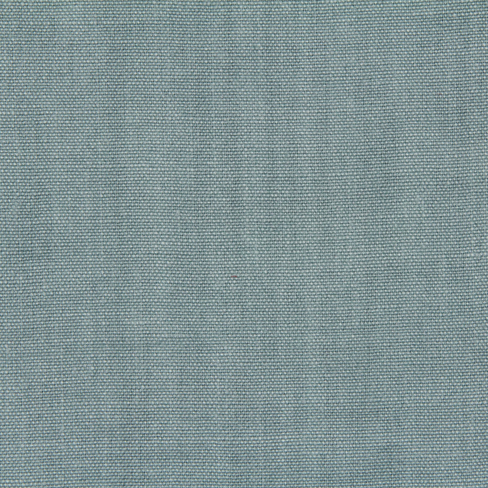 LINEN, WOOL AND CASHMERE SOLIDS Brussels Linen Fabric - Pool