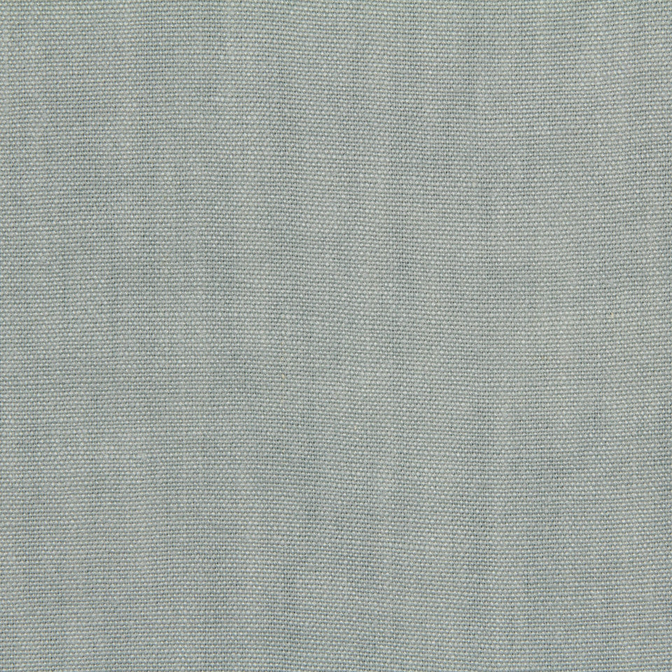 LINEN, WOOL AND CASHMERE SOLIDS Brussels Linen Fabric - Surf