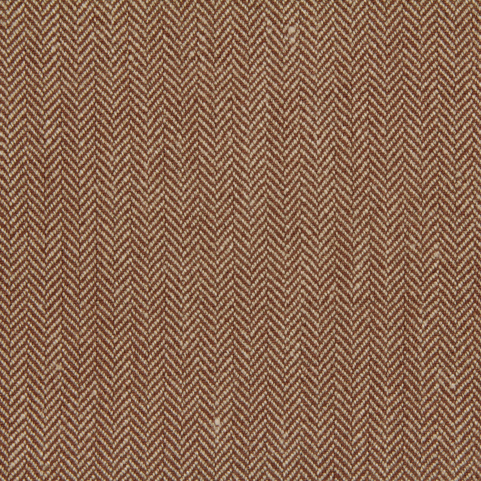 LINEN, WOOL AND CASHMERE SOLIDS Rush Reed Fabric - Nutmeg