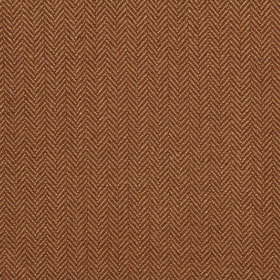 LINEN, WOOL AND CASHMERE SOLIDS Rush Reed Fabric - Teak