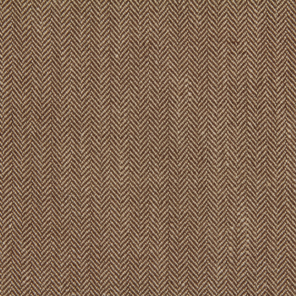 LINEN, WOOL AND CASHMERE SOLIDS Rush Reed Fabric - Bark