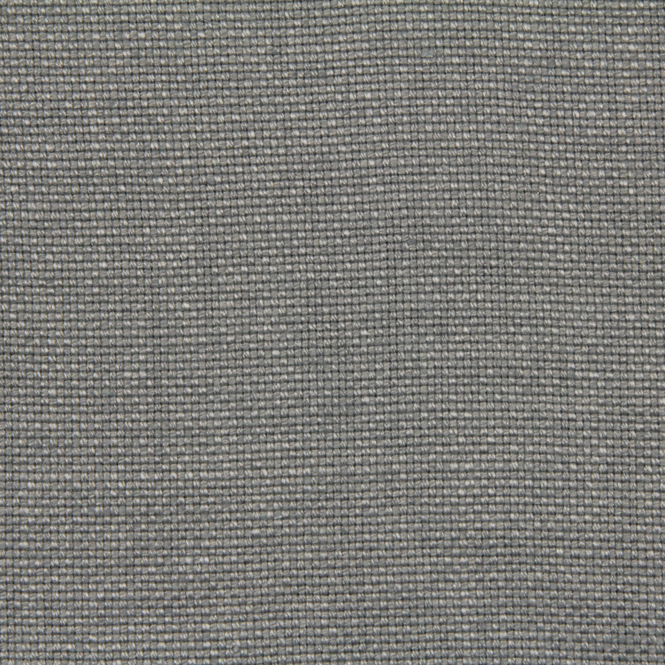 LINEN, WOOL AND CASHMERE SOLIDS Linen Basket Fabric - Pewter