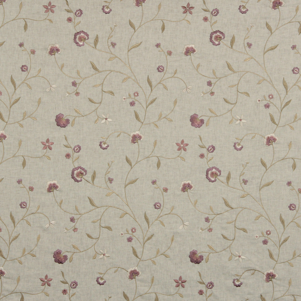 COOL Vine Blossom Fabric - Thistle