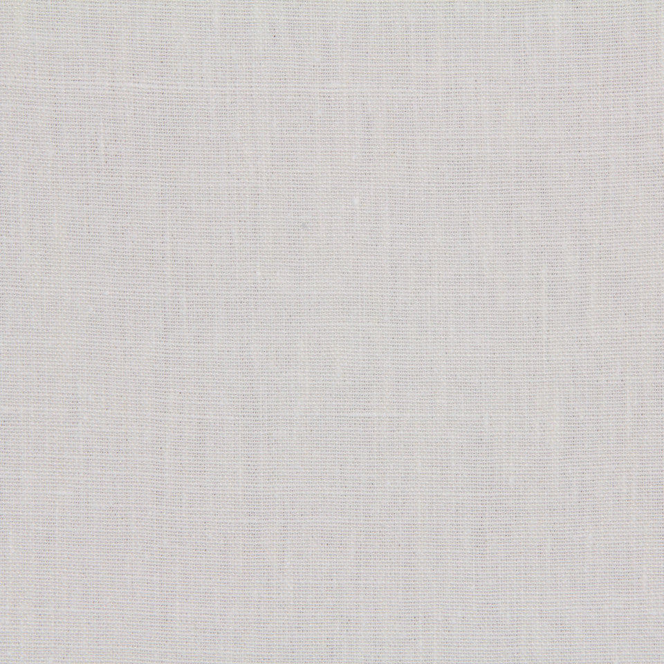 LINEN, WOOL AND CASHMERE SOLIDS Linen Solid Fabric - White