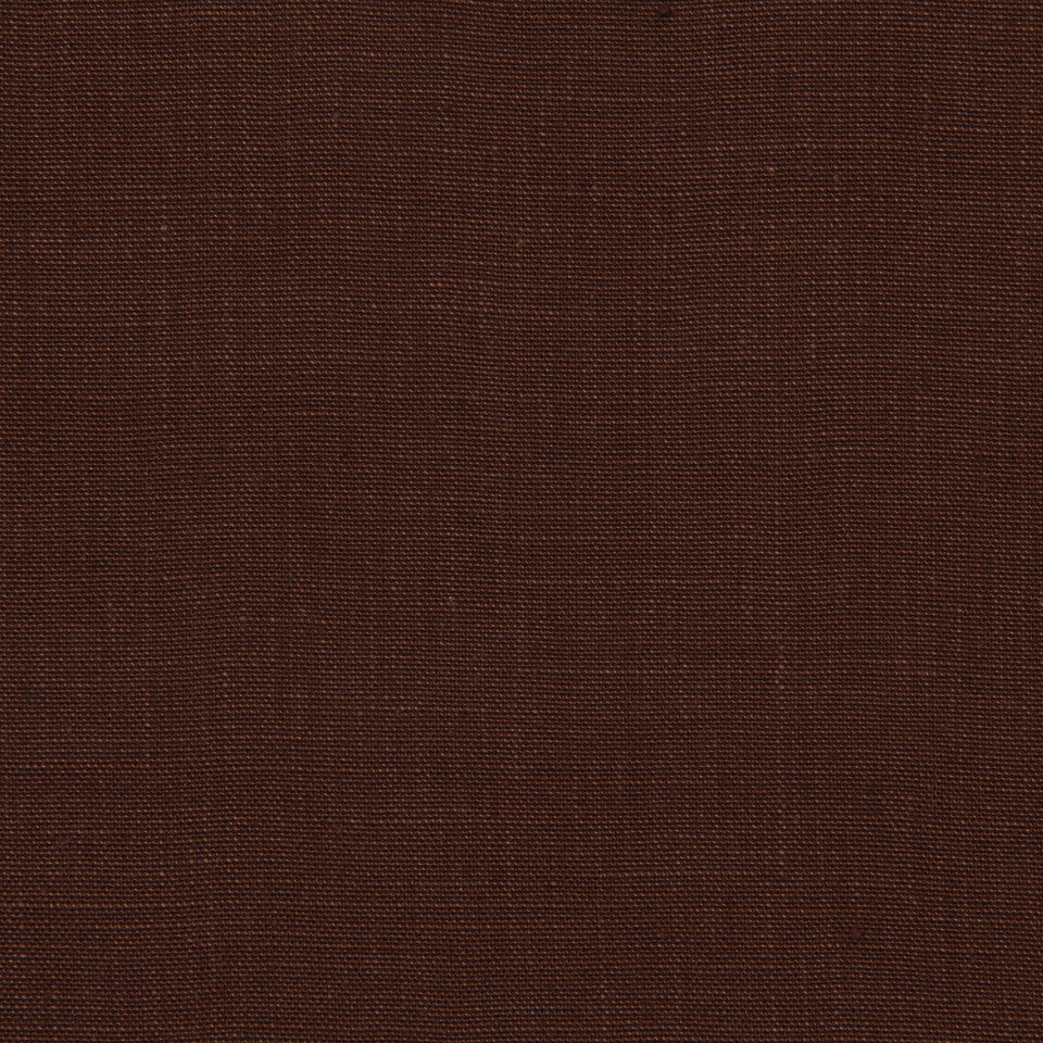 LINEN, WOOL AND CASHMERE SOLIDS Linen Solid Fabric - Leather Brown