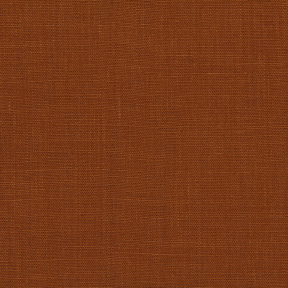 LINEN, WOOL AND CASHMERE SOLIDS Linen Solid Fabric - Cognac