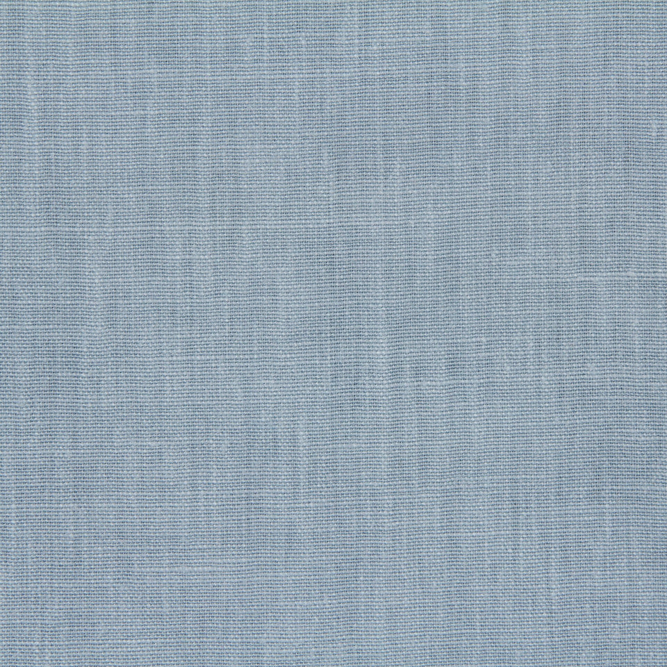 LINEN, WOOL AND CASHMERE SOLIDS Linen Solid Fabric - Atlantic Blue