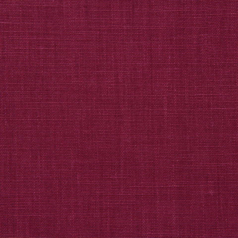 LINEN, WOOL AND CASHMERE SOLIDS Linen Solid Fabric - Magenta