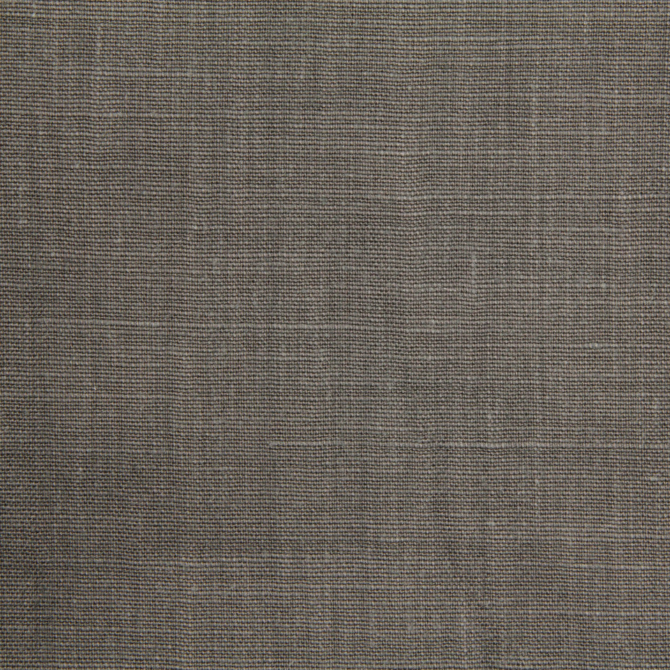 LINEN, WOOL AND CASHMERE SOLIDS Linen Solid Fabric - Ash