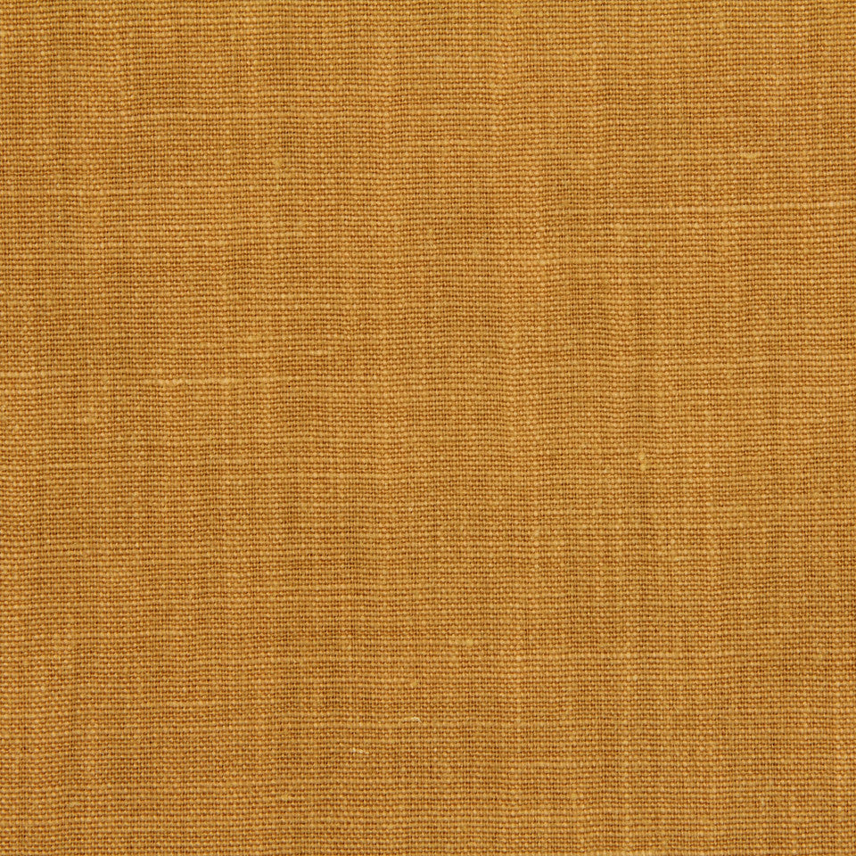 LINEN, WOOL AND CASHMERE SOLIDS Linen Solid Fabric - Marigold