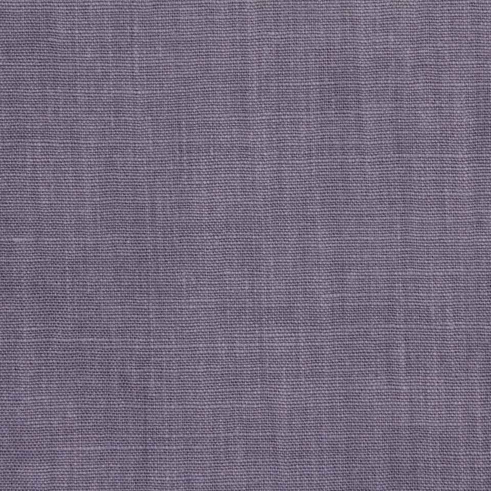 LINEN, WOOL AND CASHMERE SOLIDS Linen Solid Fabric - Violet