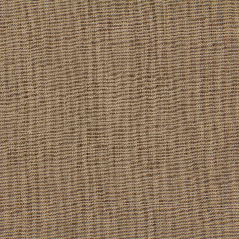 LINEN, WOOL AND CASHMERE SOLIDS Linen Solid Fabric - Taupe