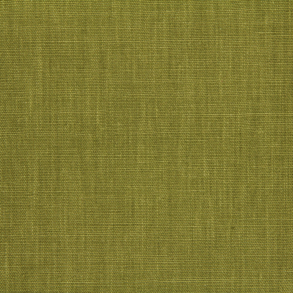 LINEN, WOOL AND CASHMERE SOLIDS Linen Solid Fabric - Verdant