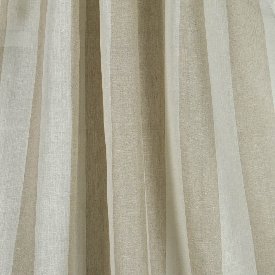 LINEN SHEERS STRIPES & PLAIDS Perfect Match Fabric - Linen