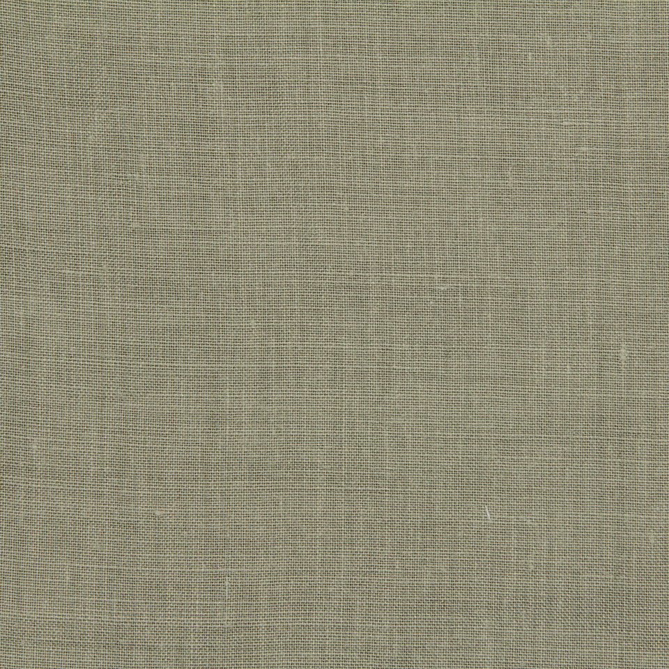 LINEN, WOOL AND CASHMERE SOLIDS Light Linen Fabric - Sage