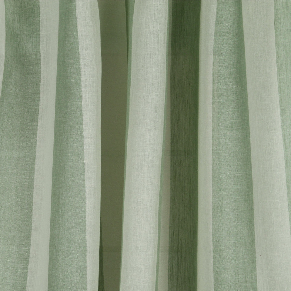LINEN SHEERS STRIPES & PLAIDS Perfect Match Fabric - Mineral