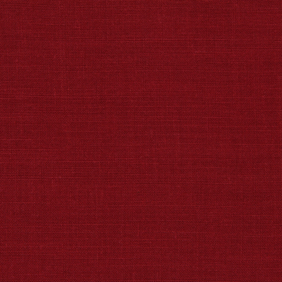 LINEN, WOOL AND CASHMERE SOLIDS Light Linen Fabric - Brick Red
