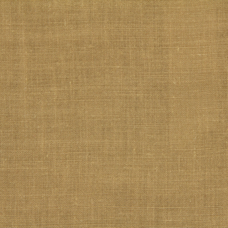 LINEN, WOOL AND CASHMERE SOLIDS Light Linen Fabric - Honey