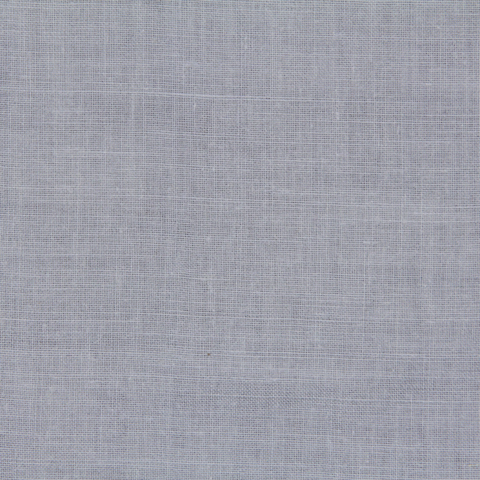 LINEN, WOOL AND CASHMERE SOLIDS Light Linen Fabric - Ice Wine
