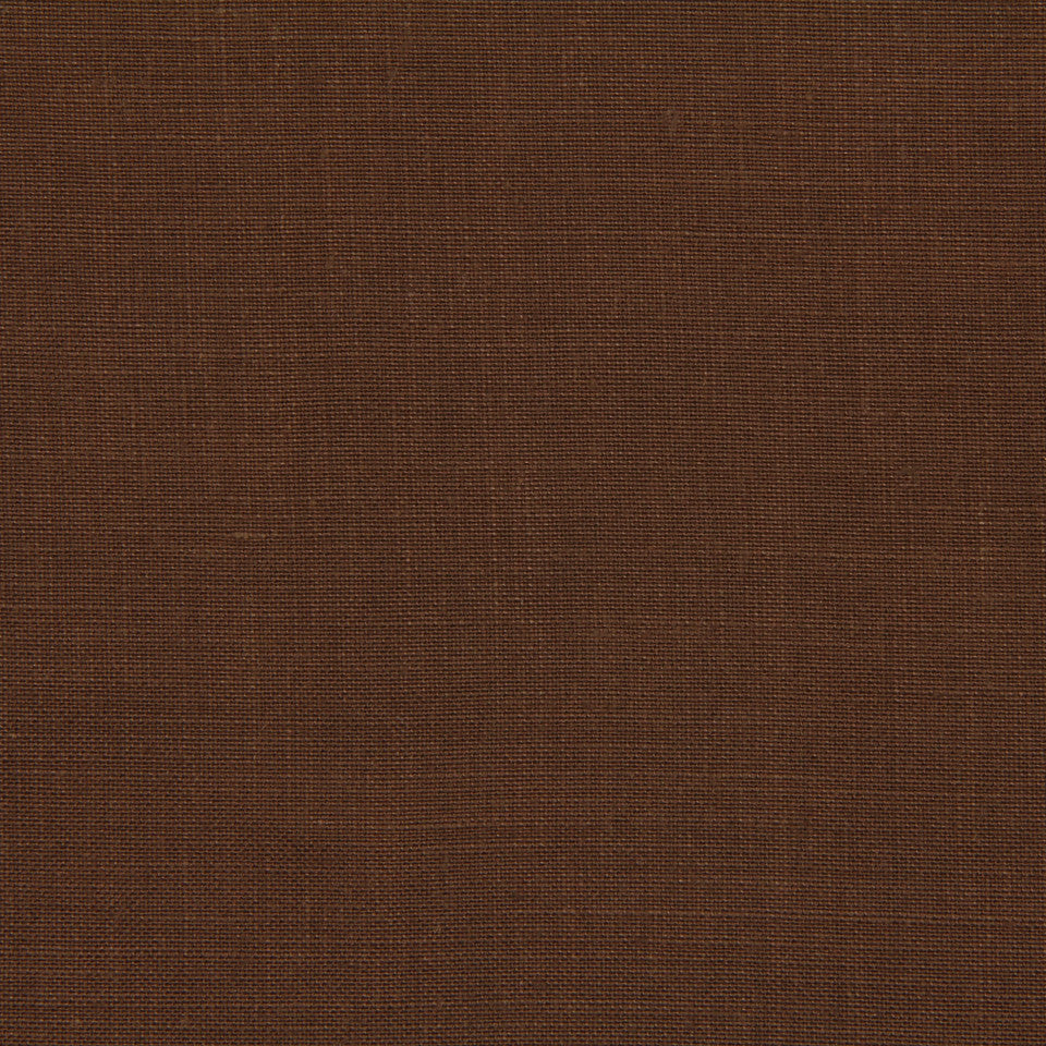 LINEN, WOOL AND CASHMERE SOLIDS Light Linen Fabric - Leather Brown